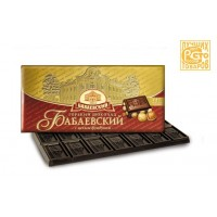 BABAEV黑巧克力榛子全批發200克