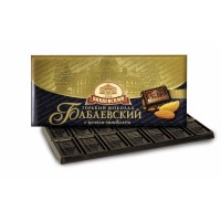 BABAEV黑巧克力與整個杏仁200克批發