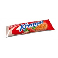 "饼干""Kuhmaster«Kremali»糖草莓馅批发"